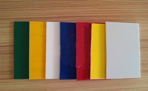 镉黄颜料塑料板材应用图